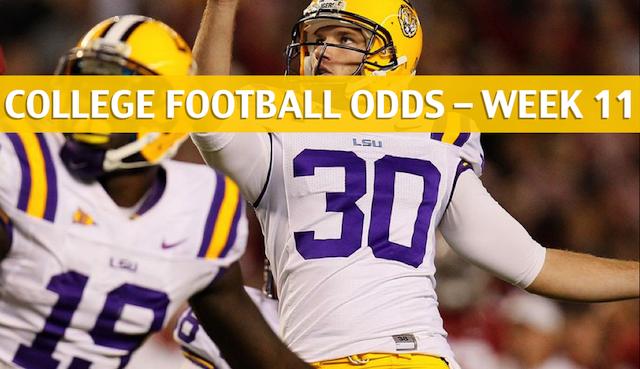 LSU Vs Arkansas Predictions Picks Odds Preview Nov