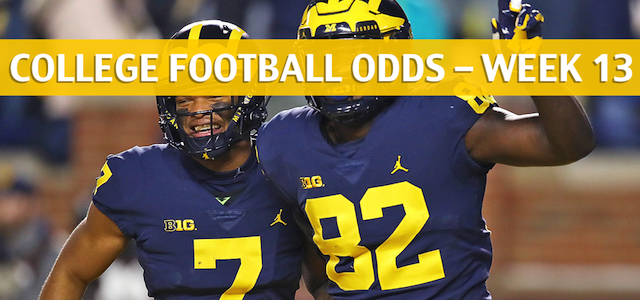Michigan Wolverines vs Ohio State Buckeyes Predictions, Picks, Odds and NCAA Football Betting Preview – November 24 2018