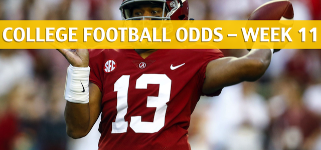 Mississippi State Bulldogs vs Alabama Crimson Tide Predictions, Picks, Odds and NCAA Football Betting Preview – November 10 2018