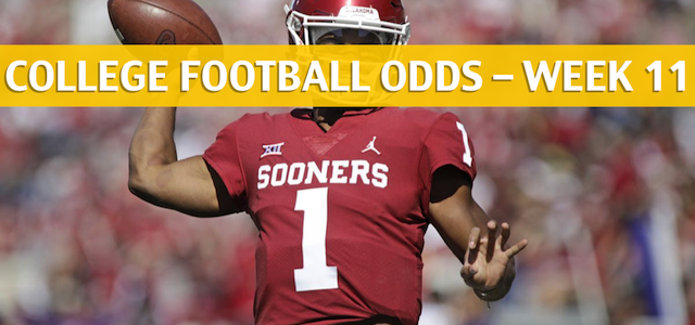 Oklahoma State Cowboys vs Oklahoma Sooners Predictions, Picks, Odds and NCAA Football Betting Preview – November 10 2018