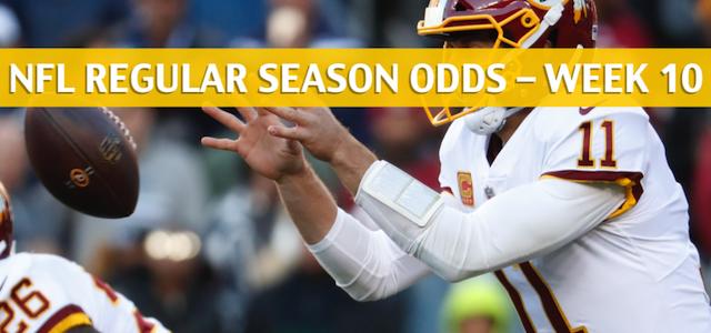 Washington Redskins vs Tampa Bay Buccaneers Predictions, Picks, Odds, and Betting Preview – NFL Week 10 – November 11 2018