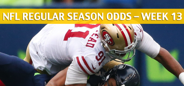 5acb4a8b 49ers vs Seahawks Predictions / Picks / Odds / Preview - Week 13 2018