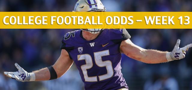 Washington Huskies vs Washington State Cougars Predictions, Picks, Odds and NCAA Football Betting Preview – November 23 2018