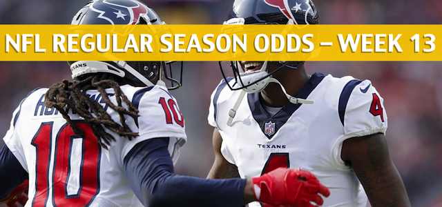 Cleveland Browns vs Houston Texans Predictions, Picks, Odds, and Betting Preview – NFL Week 13 – December 2, 2018