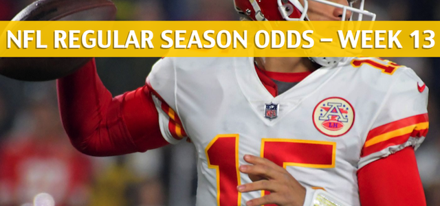Kansas City Chiefs vs Oakland Raiders Predictions, Picks, Odds, and Betting Preview – NFL Week 13 – December 2, 2018