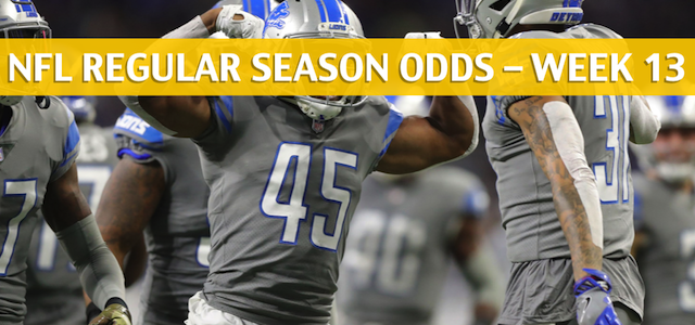 Los Angeles Rams vs Detroit Lions Predictions, Picks, Odds, and Betting Preview – NFL Week 13 – December 2, 2018