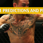 Brian Ortega vs Max Holloway Predictions, Picks, Odds, and Betting Preview - UFC 231 - December 8 2018