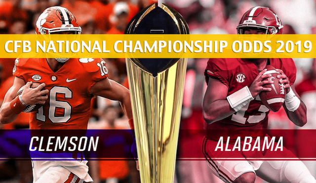 Clemson vs Alabama Predictions / Odds - National ...