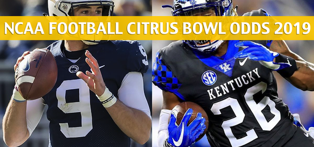 Kentucky Wildcats vs Penn State Nittany Lions Predictions, Picks, Odds, and Betting Preview – VRBO Citrus Bowl – January 1 2019