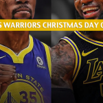 Los Angeles Lakers vs Golden State Warriors Predictions, Picks, Odds, and Betting Preview - Christmas Day 2018