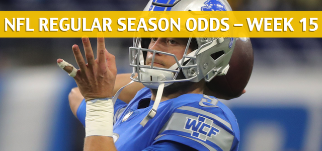 Detroit Lions vs Buffalo Bills Predictions, Picks, Odds, and Betting Preview – NFL Week 15 – December 16 2018