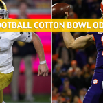Notre Dame Fighting Irish vs Clemson Tigers Predictions, Picks, Odds, and Betting Preview - Goodyear Cotton Bowl CFB Semifinal - December 29 2018