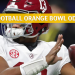 Oklahoma Sooners vs Alabama Crimson Tide Predictions, Picks, Odds, and Betting Preview - Capital One Orange Bowl CFB Semifinal - December 29 2018
