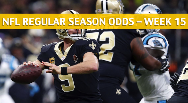 New Orleans Saints vs Carolina Panthers Predictions, Picks, Odds, and Betting Preview – NFL Week 15 – December 16 2018