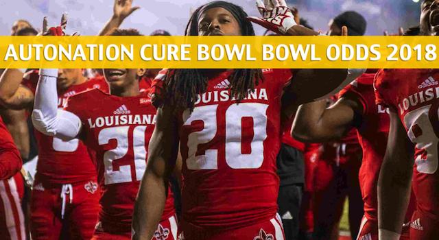 Tulane Green Wave vs Louisiana Lafayette Ragin' Cajuns Predictions, Picks, Odds, and Betting Preview – AutoNation Cure Bowl – December 15 2018