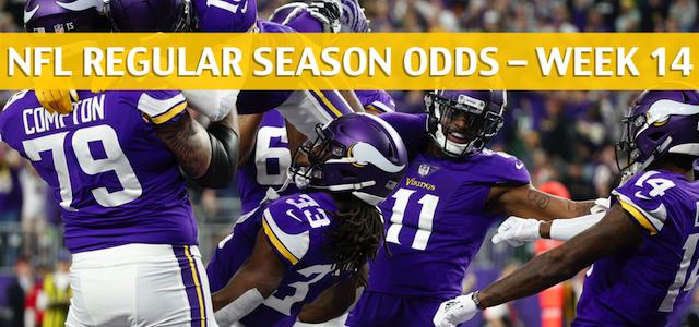 Minnesota Vikings vs Seattle Seahawks Predictions, Picks, Odds, and Betting Preview – NFL Week 14 – December 10 2018
