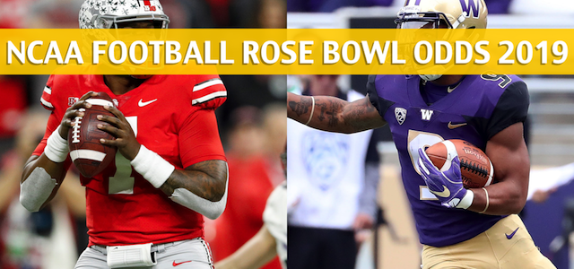 Washington Huskies vs Ohio State Buckeyes Predictions, Picks, Odds, and Betting Preview – Rose Bowl – January 1 2019