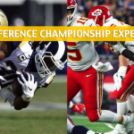 NFL Conference Championship Games Expert Picks and Predictions - January 20 2019
