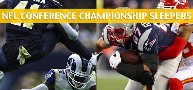 2018-19 NFL Conference Championship Sleepers and Sleeper Picks