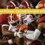 NCAA College Football Playoff National Championship Game Expert Picks and Predictions - January 7 2019