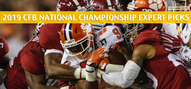 NCAA College Football Playoff National Championship Game Expert Picks and Predictions – January 7 2019