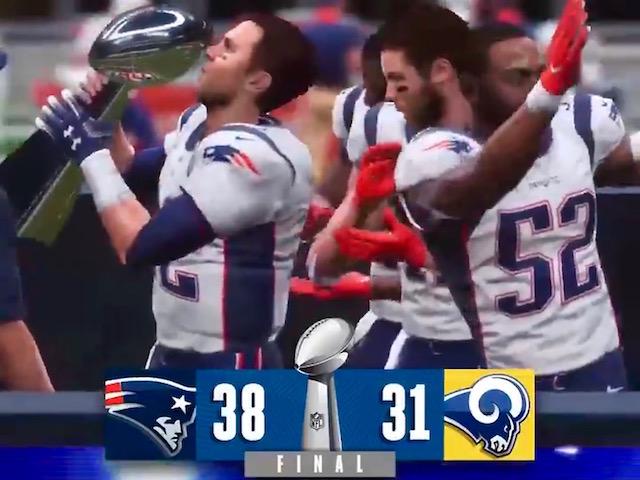 Computer Super Bowl Predictions 2019 - Super Bowl LIII Madden Pick