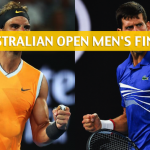 Novak Djokovic vs Rafael Nadal Predictions, Picks, Odds, and Preview – 2019 Australian Open Men's Final – January 27 2019