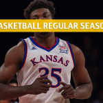 Kansas Jayhawks vs West Virginia Mountaineers Predictions, Picks, Odds, and NCAA Basketball Betting Preview - January 19 2019