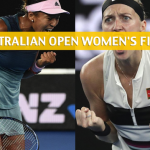 Naomi Osaka vs Petra Kvitova Predictions, Picks, Odds, and Preview - 2019 Australian Open Women's Final - January 26 2019