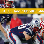 New England Patriots vs Kansas City Chiefs Predictions, Picks, Odds, and Betting Preview - NFL AFC Conference Championship - January 20 2019