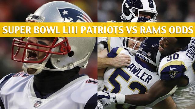 374ad8df Patriots vs Rams Predictions / Picks / Odds / Preview - Super Bowl LIII