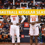 Syracuse Orange vs Virginia Tech Hokies Predictions, Picks, Odds, and NCAA Basketball Betting Preview - January 26 2019