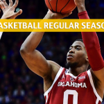 TCU Horned Frogs vs Oklahoma Sooners Predictions, Picks, Odds, and NCAA Basketball Betting Preview - January 12 2019