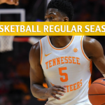 West Virginia Mountaineers vs Tennessee Volunteers Predictions, Picks, Odds, and NCAA Basketball Betting Preview - January 26 2019