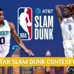 2019 NBA Slam Dunk Contest Predictions, Odds and Picks - All-Star Weekend Preview