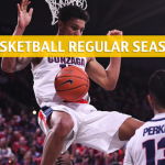 BYU Cougars vs Gonzaga Bulldogs Predictions, Picks, Odds, and NCAA Basketball Betting Preview - February 23 2019