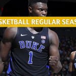 Boston College Eagles vs Duke Blue Devils Predictions, Picks, Odds, and NCAA Basketball Betting Preview - February 5 2019