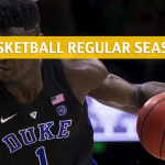Duke Blue Devils vs Virginia Cavaliers Predictions, Picks, Odds, and NCAA Basketball Betting Preview - February 9 2019