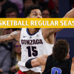 Gonzaga Bulldogs vs Loyola Marymount Lions Predictions, Picks, Odds, and NCAA Basketball Betting Preview - February 14 2019