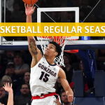 Gonzaga Bulldogs vs Pacific Tigers Predictions, Picks, Odds, and NCAA Basketball Betting Preview - February 28 2019