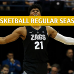Gonzaga Bulldogs vs St Mary's Gaels Predictions, Picks, Odds, and NCAA Basketball Betting Preview – March 2 2019