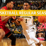 Michigan Wolverines vs Maryland Terrapins Predictions, Picks, Odds, and NCAA Basketball Betting Preview - March 3 2019