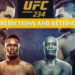 UFC 234 Predictions, Picks, Odds and Betting Preview - Kelvin Gastelum vs Robert Whittaker - February 9 2019