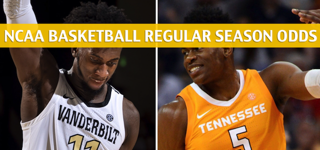 Vanderbilt Commodores vs Tennessee Volunteers Predictions, Picks, Odds, and NCAA Basketball Betting Preview – February 19 2019