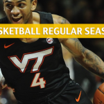 Virginia Tech Hokies vs Pittsburgh Panthers Predictions, Picks, Odds, and NCAA Basketball Betting Preview - February 16 2019