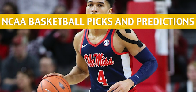 Alabama Crimson Tide vs Ole Miss Rebels Predictions, Picks, Odds, and NCAA Basketball Betting Preview – March 14 2019