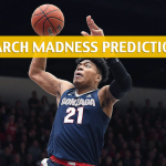 Baylor Bears vs Gonzaga Bulldogs Predictions, Picks, Odds, and NCAA Basketball Betting Preview – March 23 2019