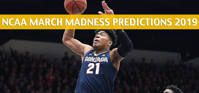 Baylor Bears vs Gonzaga Bulldogs Predictions, Picks, Odds, and NCAA Basketball Betting Preview – March 23 2019
