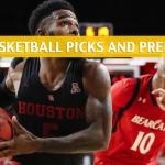 Cincinnati Bearcats vs Houston Cougars Predictions, Picks, Odds, and NCAA Basketball Betting Preview - March 17 2019