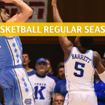 Duke Blue Devils vs North Carolina Tar Heels Predictions, Picks, Odds, and NCAA Basketball Betting Preview – March 9 2019